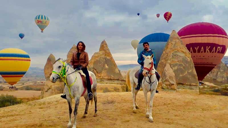 Cappadocia - Horseback Riding Tour